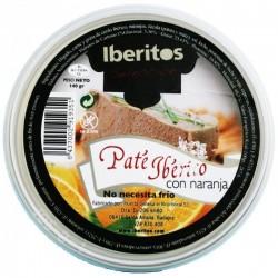 Paté Ibérico con Naranja 140gr