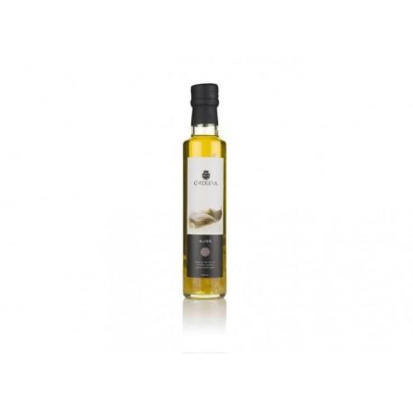 Aceite de Oliva Virgen Extra con Ajo La Chinata en Botella de Cristal 250ml