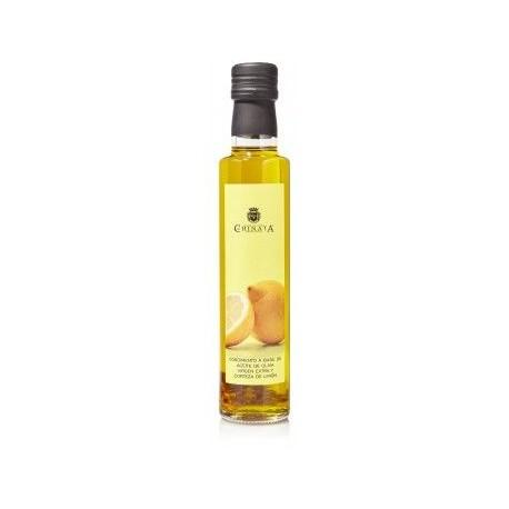 Aceite de Oliva Virgen Extra con Limón La Chinata en Botella de Cristal 250ml
