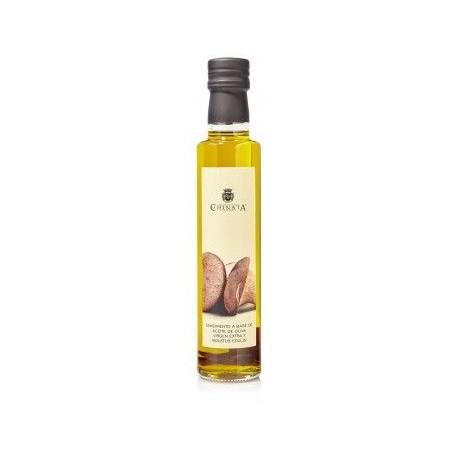 Aceite de Oliva Virgen Extra con Boletus Edulis La Chinata en Botella de Cristal 250ml